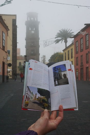 Tenerife España UNESCO World Heritage Site Architecture Building Exterior Built Structure City Close-up Day Holding Human Body Part Human Hand Lalaguna Men One Person Outdoors People Real People Sky Tenerife Tenerife Island Teneriffa Unesco Unesco World Heritage Unescoworldheritage