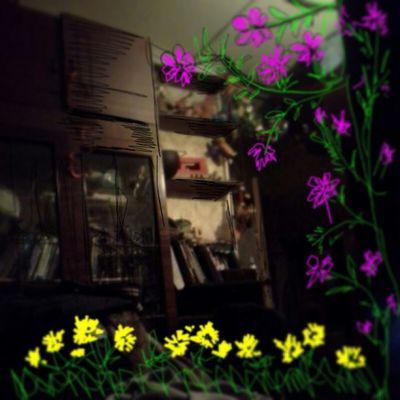 И пусть в кватире кавардак, весна пришла и в это захолустье. Жальелку было вырубать, пришлось цветы на смену ей сажать