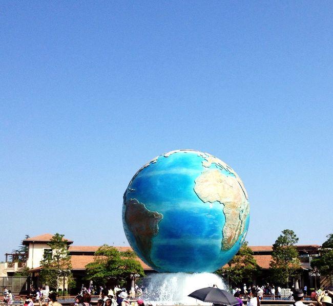 Tokyo DisneySea ディズニー Sky 地球儀 東京ディズニーシー