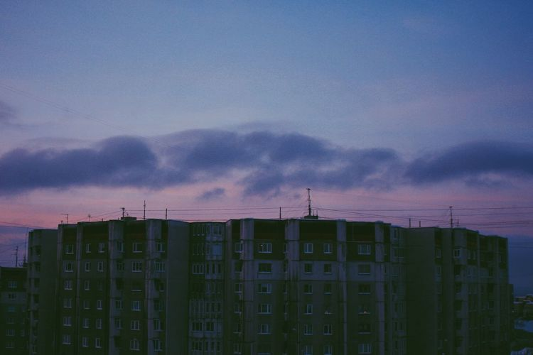 Rooftops. From The Top From My Point Of View Clouds Landscape Urban Landscape Murmansk Cityscape Cityscapes Urban Urbex Urbanphotography Streetphotography Urbanexploration Urban Geometry Industrial Skies North Buildings