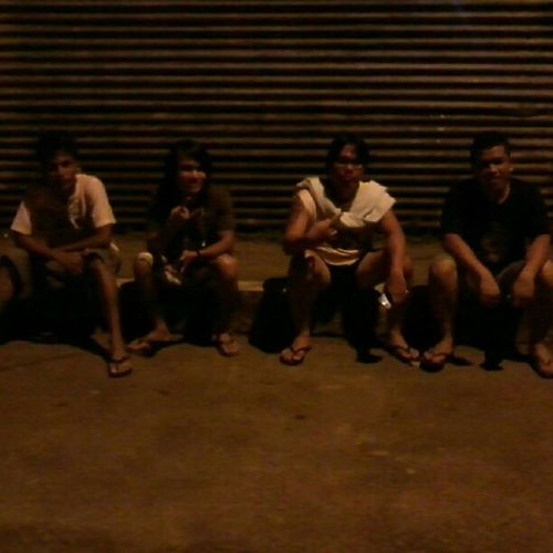 tambay with @lordxgenre @parekoyx SirJeck and Yha