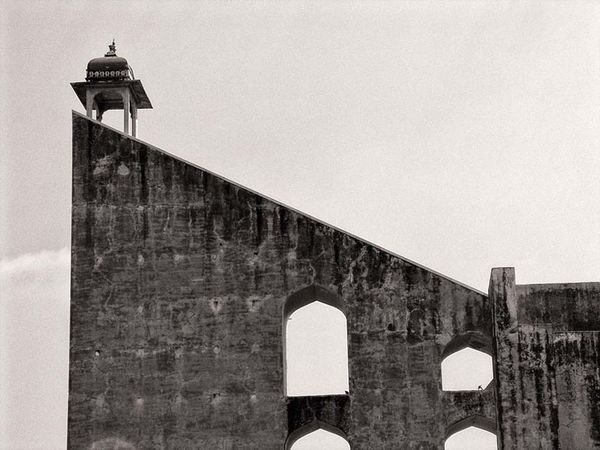 Observatory in Jaipur. Blackandwhitephotography Building Architecture Architecture_bw Old Buildings Historical Building Observatory India Jaipur Rajasthan