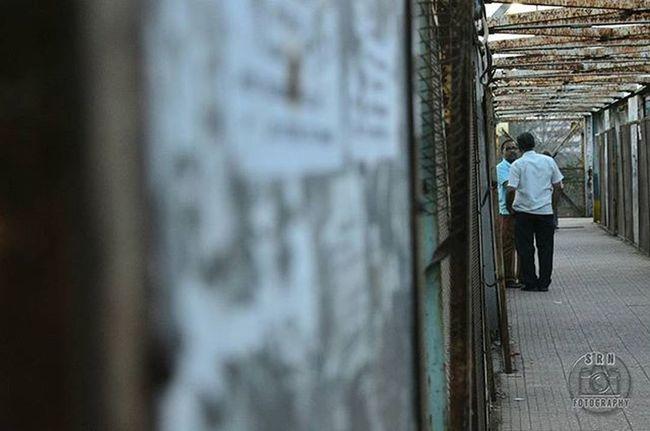 Sometimes you have to disconnect to stay connected. Connect Disconnected Conversation Likeforlike Like4like L4l People Random Railwaystation Friends Dialogue India Nikon Bridge _indiasb Somumbai Sunset Gf_india Mumbai Focused