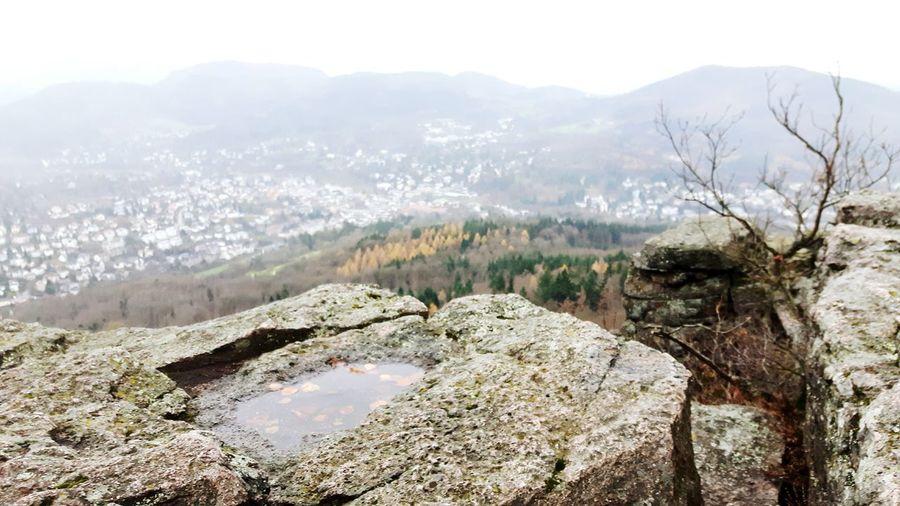Stadtlandschaften Baden-Württemberg  Baden-Baden Battenberg Battenstein Blick Vom Berg Herbststimmung Herbstfarben Herbstspaziergang Herbst Herbsttage