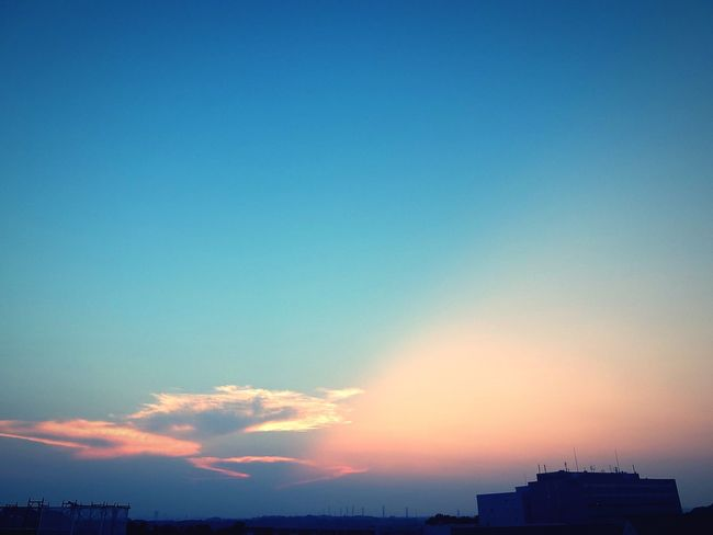 夕焼け 夕暮 夕空 Clouds Sunset Evening Sky Clouds And Sky Evening Sky