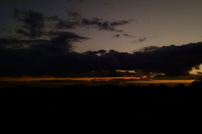 Horizontal fineness. Nature Sunset No People Cloud - Sky Landscape Sky Beauty In Nature Sky_collection sunset #sun #clouds #skylovers #sky #nature #beautifulinnature #naturalbeauty photography landscape Sunset Silhouettes Sunrise_sunsets_aroundworld Sunsetlover Perspectives On Nature Shades Of Winter