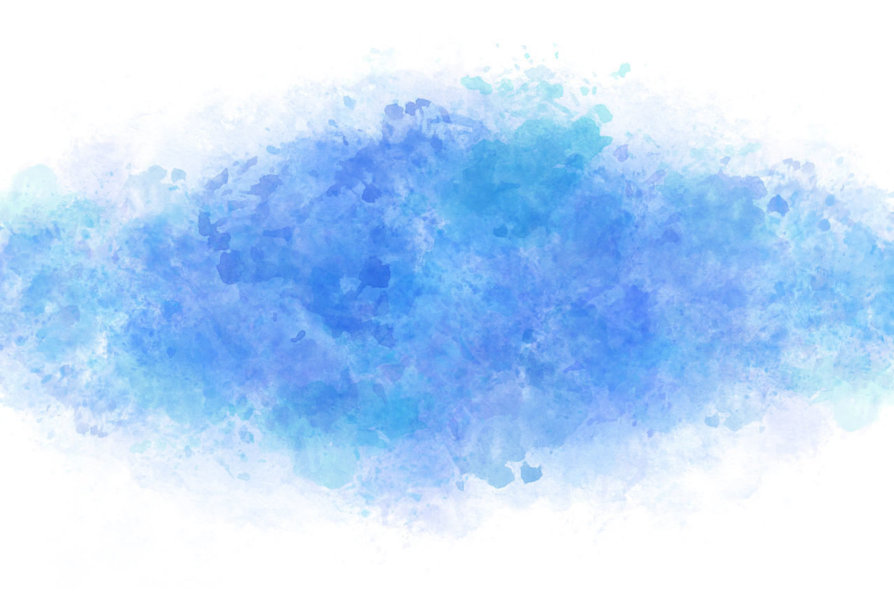blue, cloud - sky, sky, no people, multi colored, nature, creativity, outdoors, watercolor paints, abstract, paint, white color, backgrounds, art and craft, watercolor painting, light - natural phenomenon, beauty in nature, day, digital composite
