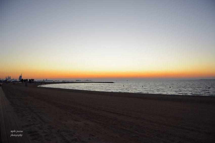 Beach Mode EyeEM Beach Photography Sky Sea Water Sunset Beach Scenics - Nature Horizon Land Outdoors Nature Sand