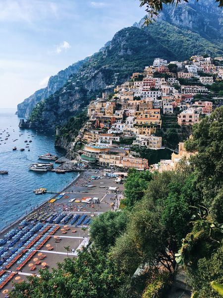 Positano. Italy. Amalfi coast Trip Summertime View From Above Landscape_Collection Bestoftheday Best Of EyeEm Best Of EyeEm Vocation Italy Positano Amalfi Coast Tree Beauty In Nature Plant Sky Nature Land Water Scenics - Nature Mountain Tranquility Tranquil Scene Beach Travel Outdoors No People