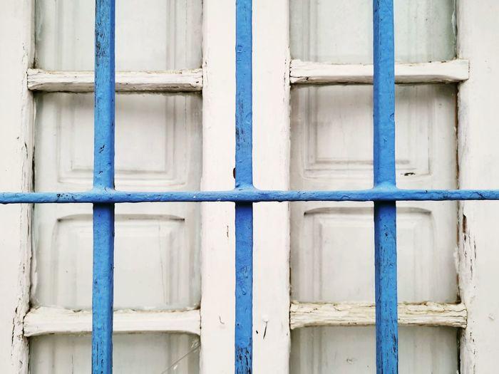 Full frame shot of closed house window