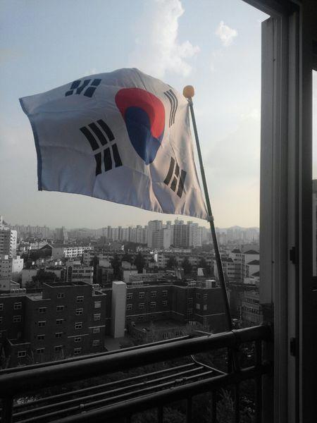 광복절! 정말 기쁜 날♥ Independence Day Of Korea 태극기가 바람에 펄럭입니다♬ 태극기