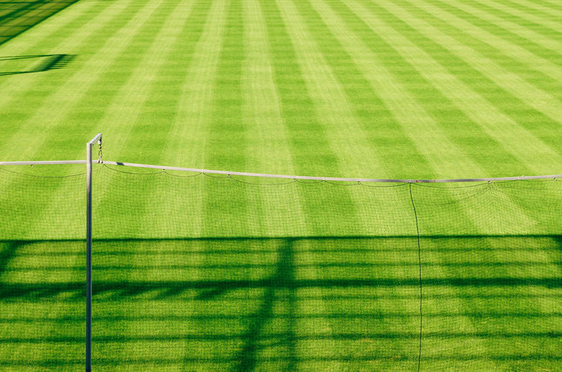 Football Russia Stadium Absence Backgrounds Day Fifa2018 Focus On Shadow Grass Green Color High Angle View Nature Net - Sports Equipment No People Outdoors Pattern Shadow Soccer Soccer Field Sport Striped Sunlight Sunny Team Sport World Cup 2018