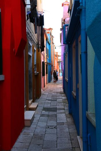 colored canyon Burano, Italy Colors EyeEm EyeEm Best Shots Architecture Building Exterior Built Structure Burano City Day Eye4photography  Full Length Lifestyles Men One Person Outdoors People Real People Street The Way Forward Walking Women An Eye For Travel