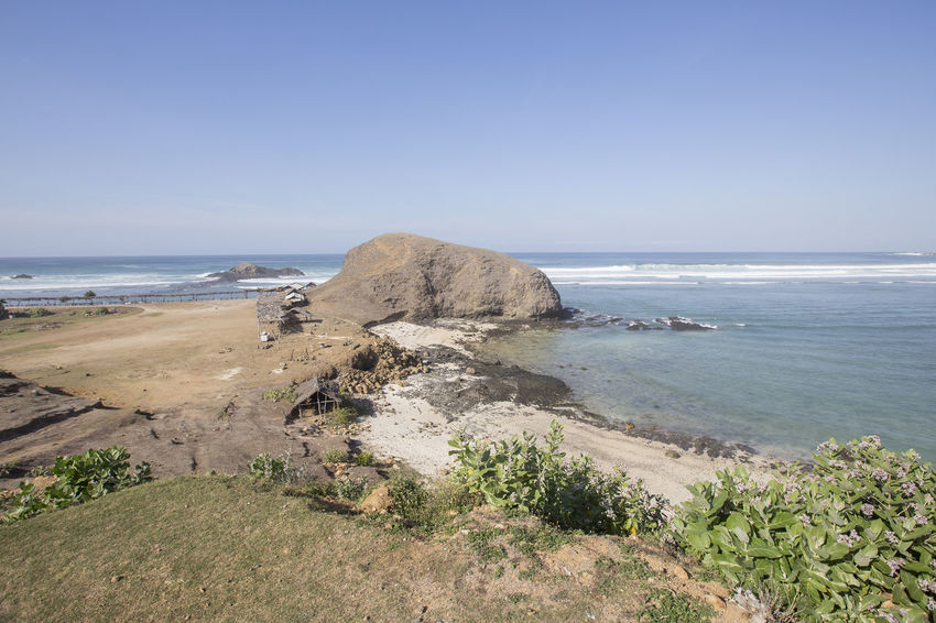 SEGER BEACH LOMBOK DURING SUNNY DAY Day Destination Land Nature Outdoor Outdoor Photography Outdoors Seger Beach Lombok Sky Sunny Day Tranquil Scene Travel Destinations