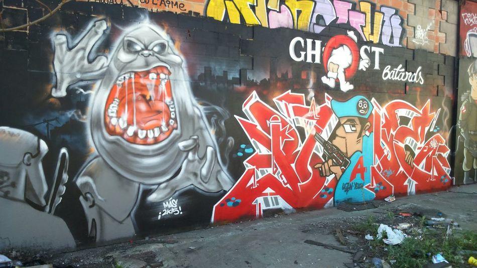 Urbanphotography Streetart Grafitti Bordeaux Art Graffiti Wall Ghostbusters