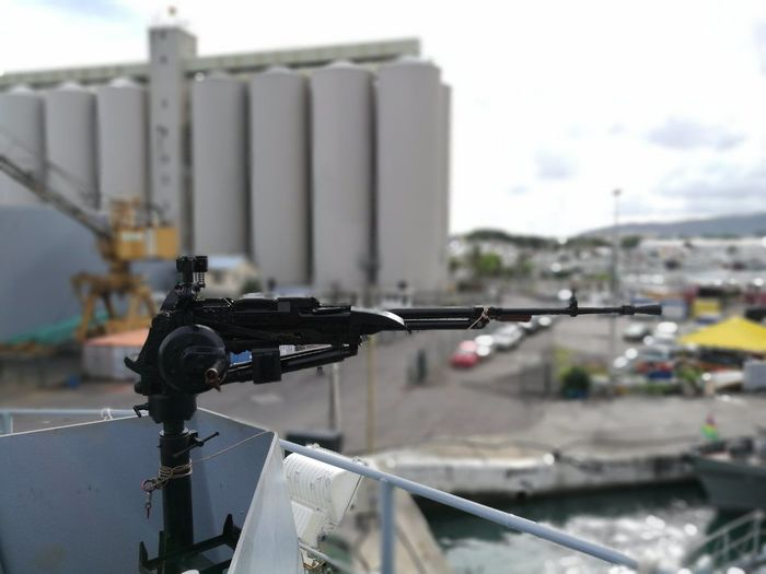 Industrial Building  Harbor Built Structure Outdoors Metal Industry Nautical Vessel Riffle Guns Military Ship The Architect - 2017 EyeEm Awards The Great Outdoors - 2017 EyeEm Awards
