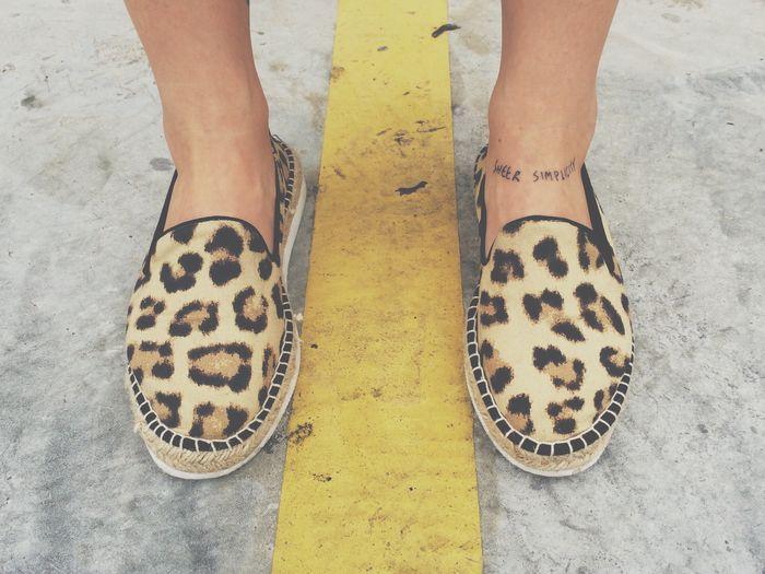 💛 Shoes Animal Print Shoe Shoeselfie Shoes ♥ Tattoo Tattoos Legs Feets Feet Style