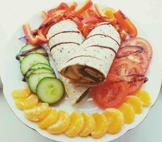 Lunch Healthy Food Clean Eating Wrap