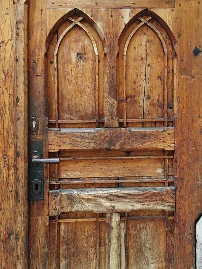 Door Closed Security Safety Entrance Wood - Material Protection No People History Day Outdoors Close-up Hall In Tirol Old Buildings