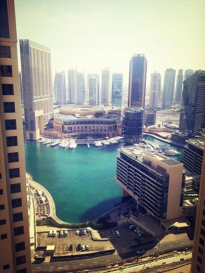 Dubai JBR Marina , JBR Dubai January 2014