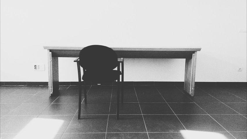 La silla del jueves... Black & White