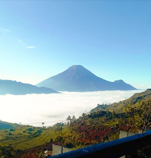 Dieng Mountain Sindoro Sumbing Tourism Scenery Cloud Natural Wonderful View Central Java Central Java, Indonesia Diengplateau Scenery Shots Sky And Clouds Morning Sky Mountain Clear Sky Pastel Colored Lake Sky Landscape Mountain Range Volcano Snowcapped Mountain Bromo-tengger-semeru National Park First Eyeem Photo