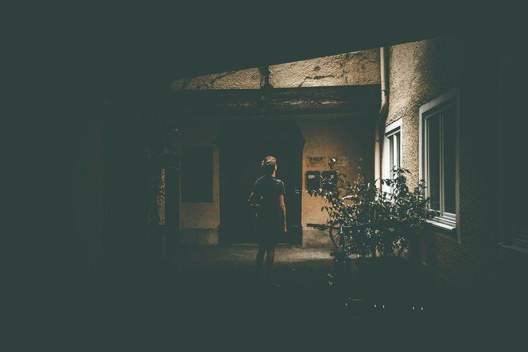 Creative Light And Shadow People