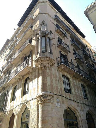 Barcelona, Spain Barcelona España My Best Photo Politics And Government History Façade Window Ornate Sky Architecture Building Exterior Built Structure Decorative Art Historic Architectural Column Mosque Civilization