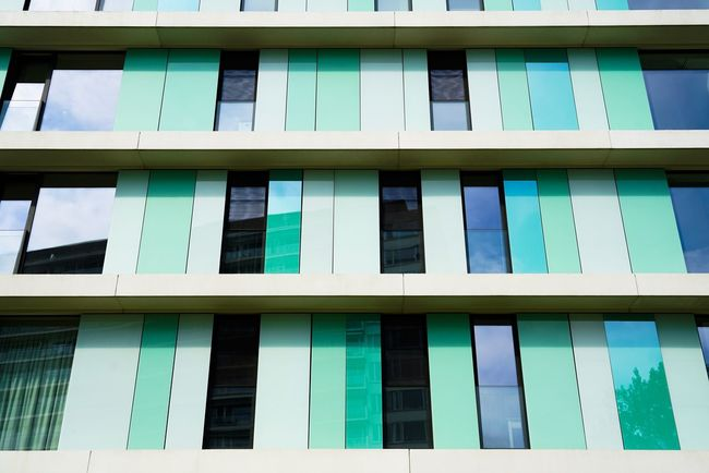 Window Full Frame Building Exterior Architecture Built Structure Day Outdoors Backgrounds No People Architecture Green Color Architecture Photography Facade Building Glass - Material Glass Art Glass Reflection Glass Windows Façade Modern Architecture Modern Building The Week On EyeEm