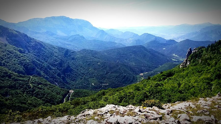 France 1500ft Above Surface Peace Mountain View Calmness