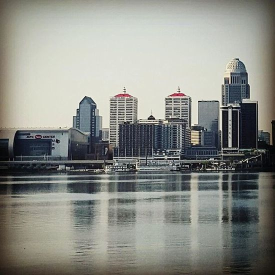 River shot Waterfrontwednesday Everythinglouisville Igerslouisville Cityscape