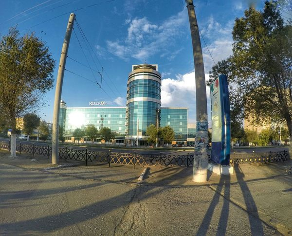Architecture Kazakhstan Aktobe City Building
