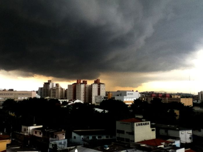 Last Saturday storm! Heavy Rain Storm Scary Sky Lovely Weather How's The Weather Today?