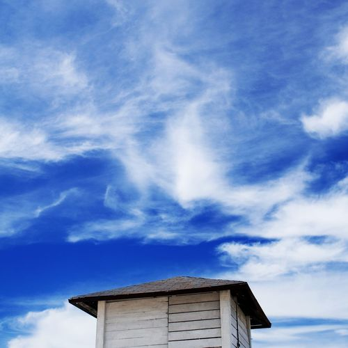 under Blue Sky White Clouds