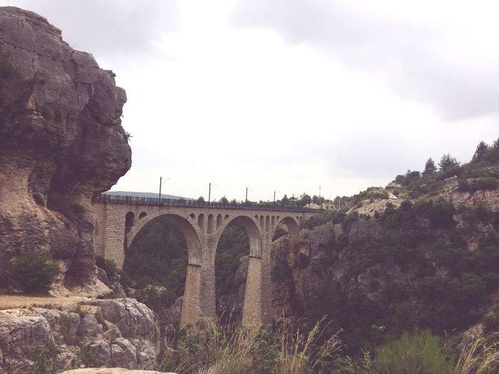 Varda Köprüsü 🛤 #railway #train #ottoman Bridge History Bridge - Man Made Structure Low Angle View Outdoors Building The Past Bridge No People Travel Destinations Connection Cloud - Sky Tree Day