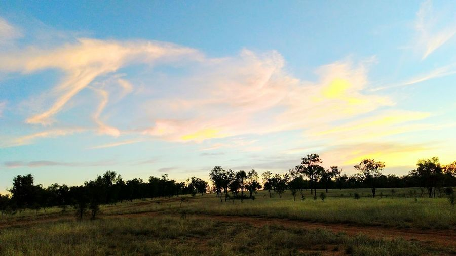 Incredible Outback Sunset outdoors Tranquility no people Splash Of Colours beauty in nature Outback Australia outback collection Investing In Quality Of Life