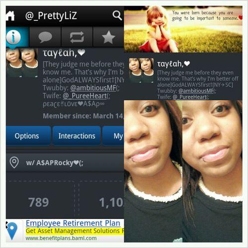 Follow Me Twitter I Follow Back Follow Me On Twitter  @_PrettyLiZ