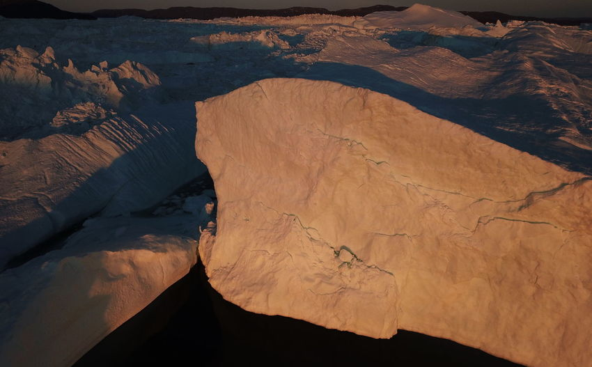DJI Mavic Pro From Above  Icebergs Ilulissat Ilulissat Icefjord Midnight Sun Nature Nature Photography The Real Greenland This Is Greenland Dji Iceberg Iceberg - Ice Formation Mavic Pro Nature_collection