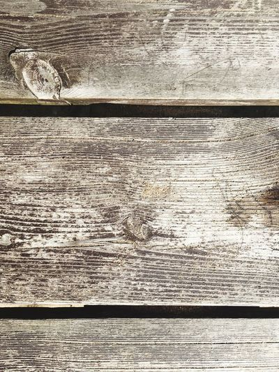 Full frame shot of weathered wooden table