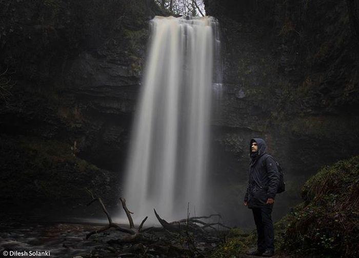The Henrhyd waterfall as featured in Dark Knight Rises Batman Darkknight Waterfall Water Longexposure Wales Brecon Beacons Longexposureoftheday Longexposhots Photographer Photooftheday Showcase: February