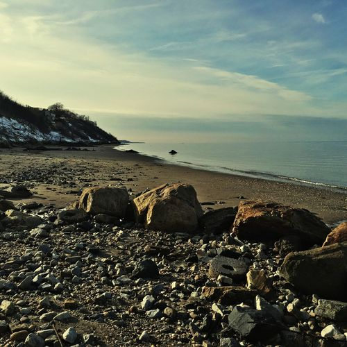 Rocks Rocks And Water Rocks LongIslandNY NY Beachphotography Beach Check This Out Photooftheday