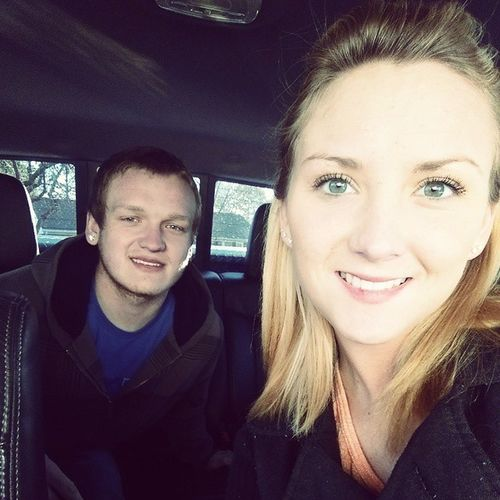 My favorite oldest little brother lol Dylan Lovehim :D Lastnightoutbeforeigohome