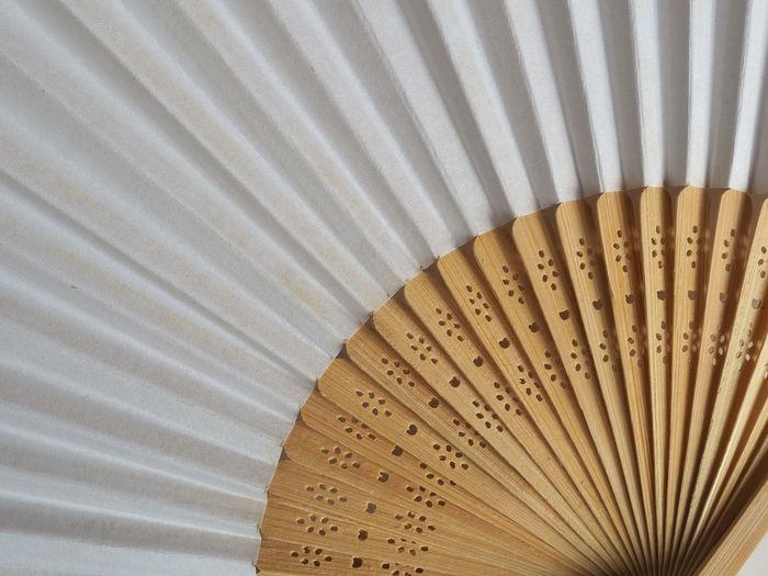 High angle view of umbrella