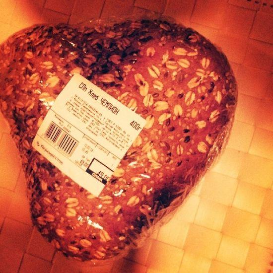 Сердечный хлеб ко дню Валентина))) ДеньСвятогоВалентина сердечко