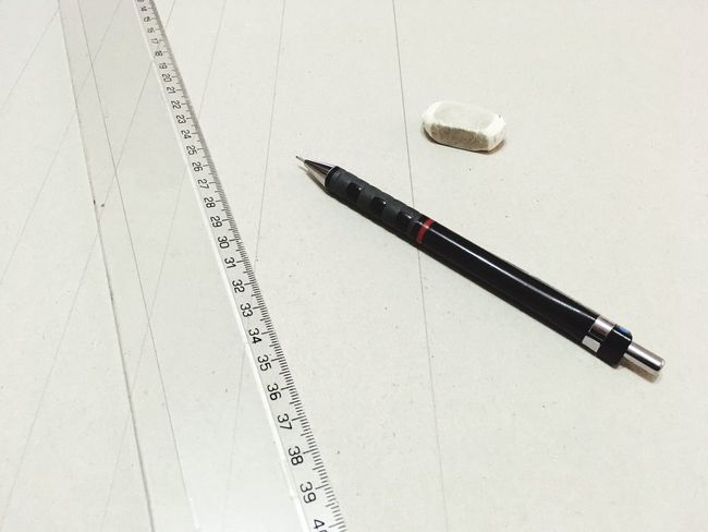 Drawing tools Centimeters Design Lines Pen Paper Table No People Indoors  Close-up Ink Well Day
