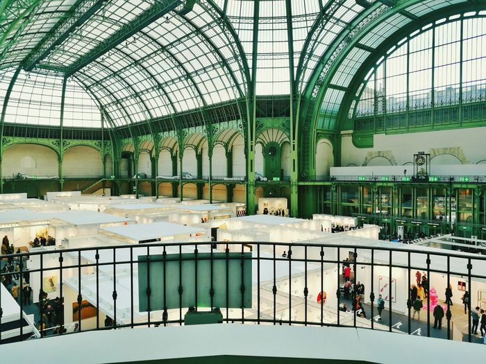 FIAC at Paris this year, just a picture I keep with me as a good memory Paris Je T Aime Grandpalais FIAC2016 Indoors  Architecture
