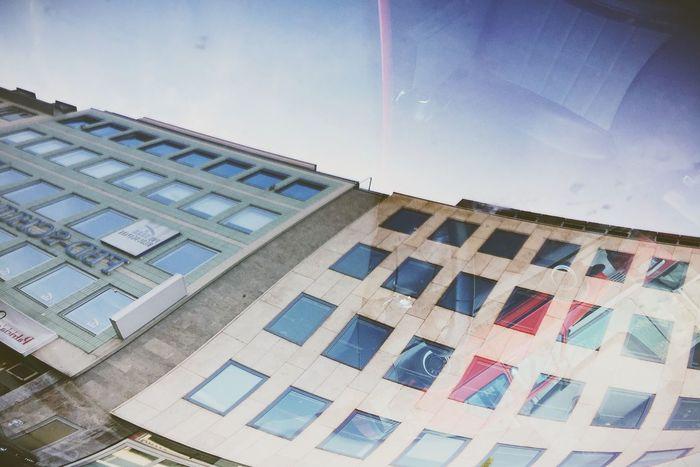 Reflection Window Windshield Global Eyeem Adventure - Stuttgart