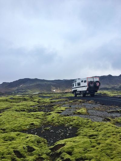 Green Clouds And Sky Cloudy Rainy Highlands Iceland116 Iceland_collection Driving Offroad Camper