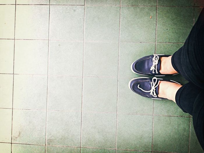 My virgin pair of Sperry! Shoes Singapore Sperry's  Catchherfart