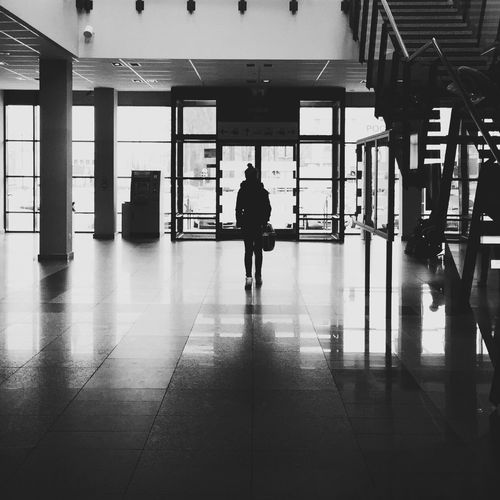 Railwaystation EyeEmBestPics EyeEm Best Shots EyeEm Best Shots - Black + White Bw_silhouette Poland VSCO OpenEdit Leszno IPSShadows